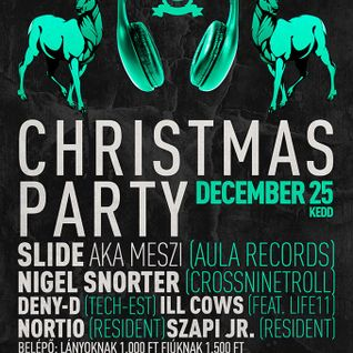 Slide - Live @ Club Prince Mende Christmas Party 2012.12.25.