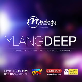 Paulo Arruda at Mixology Radio Show • 107.5 YEAH! (Costa Rica) Ago | 2015