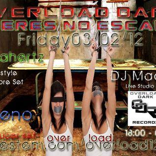 Xeno @ Overload Dark Radio - 3rd Feb 2012
