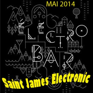 MJC Rixensart Soirée Electro Bar - Saint James Electronic - MAI 2014
