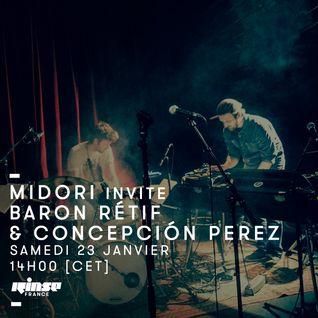 Menace Records invite Baron Rétif & Conceptión Perez - 23 Janvier 2016