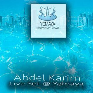 Abdel Karim Live Set @ Yemaya