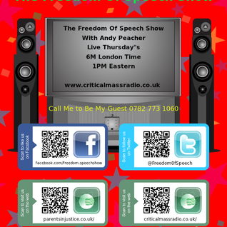 THE FREEDOM OF SPEECH SHOW WITH ANDREW PEACHER 04.04.2013