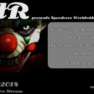SpeedGestört vs. Röm der Zerstörer @ Rotterdam Terror Radio pres. Speedcore Worlwide & Friends