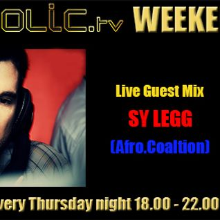 The Clubaholic Weekend Warmup Radio Show ft. live guest mix from Sy Legg