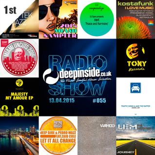 DEEPINSIDE RADIO SHOW 055 (Tony Records Label of the week)