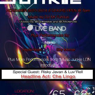 Music Junkie (25/11/2014)