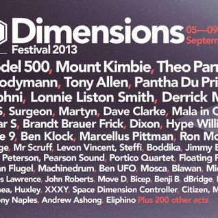 Surgeon @ Dimensions Festival 2013 - Croatia (06-09-2013)