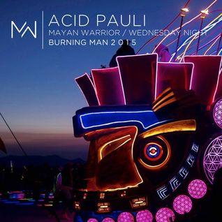 Acid Pauli - Burning Man 2015 Mayan Warrior