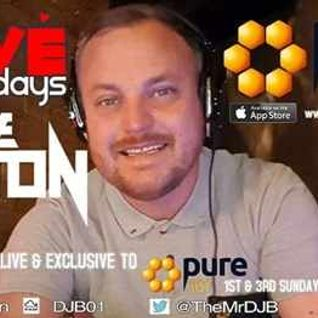Dave Bolton - iLove Sunday's Live On Pure 107 04.09.2016