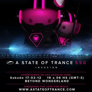 #ASOT550 - Shogun -  Live at Beyond Wonderland in Los Angeles, USA,CA (17.03.2012)