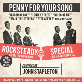 Penny For Your Song - classic rocksteady from original UK 45s