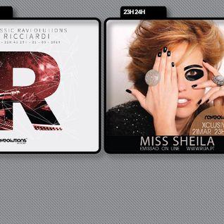 Tó Ricciardi & Miss Sheila & Lord Vegan @ Raveolutions Radio Show