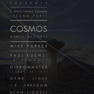 Paul Kuenzi - Live @ Cosmos 3.21.14