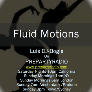 Fluid Motion Show Pre Party Radio  11/04/13