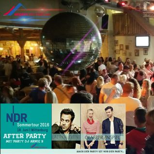 NDR Sommertour After Party im Ski Alpin Center Hamburg Wittenburg Part 1