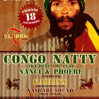 KARLIXX EN SUBSTATION GRANADA CON CONGO NATTY PARTY
