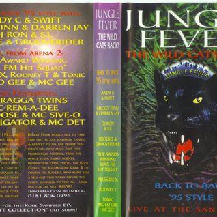 Brockie & Grooverider w/ MC Det & Flinty Badman -  Jungle Fever - 18.3.95 - Sanctuary
