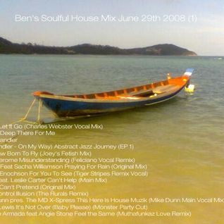 Ben's Soulful House Mix  1