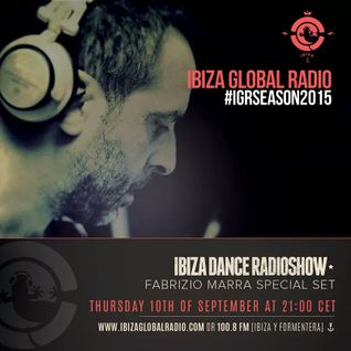 Fabrizio Marra live on IBIZAGLOBALRADIO Studios  ‪#‎LG2dClub‬ with JOSE MARIA RAMON
