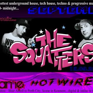 Hotwired with Nikki Flame and The Squatters 12th September 2012