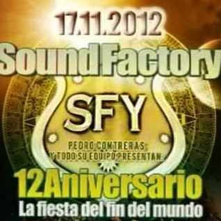 Alfredo Pareja @ 12 Aniversario Sound Factory (CD Promocional)