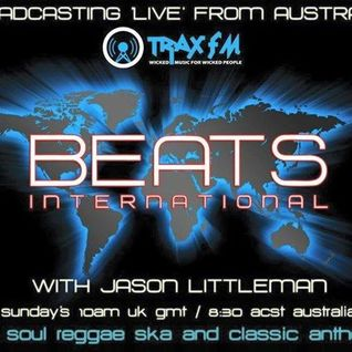 this weeks Beats International radio show on Traxfm, what a show !!!!!