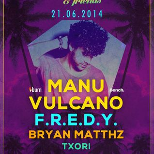 21.6.14. - Bryan Matthz @ La Room/Closing set (Pre-ElectroSplash)