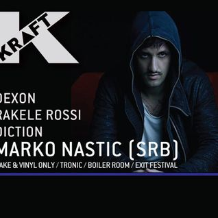 "Marko Nastic @ "" KRAFT "" - 21.11.2015, Sugarfactory, Amsterdam"