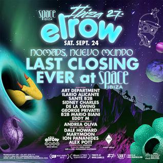 Ilario Alicante @ Elrow Closing Party at Space Ibiza - 24-09-2016