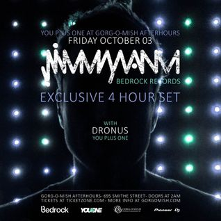 Jimmy Van M - Live @ YouPlusOne, Gorgomish Night Club (Vancouver) - 03.10.2014