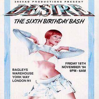 Micky Finn (1) Desire 'The Sixth Birthday Bash' 18th November 1994