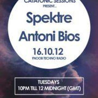 Catatonic Sessions 0018: Spektre & Antoni Bios