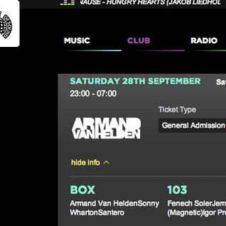 Ministry Of Sound 22nd Birthday Party