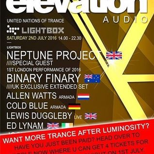 Neptune Project - Live @ United Nations Of Trance, Lightbox (London, UK) - 02.07.2016