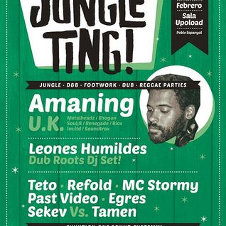 TAMEN Opening Set @ JUNGLE TING! FEB 2015