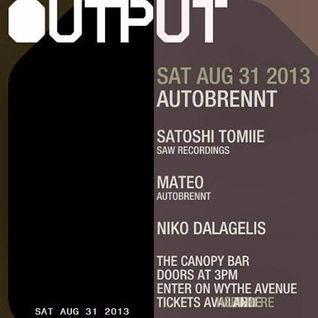 Satoshi Tomiie - Live at The Canopy Bar, New York, US (31-08-2013) part1