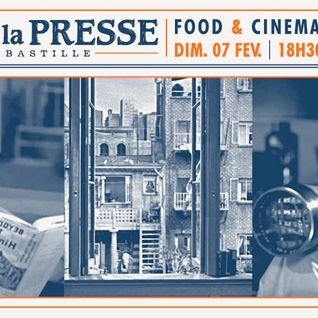 Fenetre Sur Cour by ATN (Food & Cinema) @ Cafe de la Presse (07-02-16)