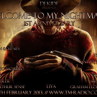 Arthur Sense - Welcome to my Nightmare 1st Anniversary Guest Mix [February 2013] on tm-radio.com