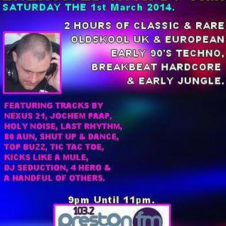 Energised With DJ Tim - 1/3/14 - 103.2 Preston fm