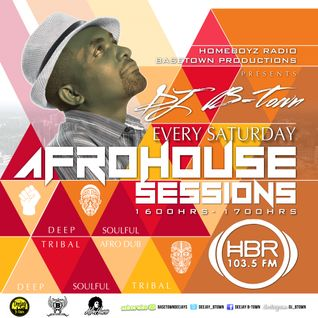 DJ B-Town - AFROHOUSE SET on 103.5 FM HBR (22 AUG 2015)