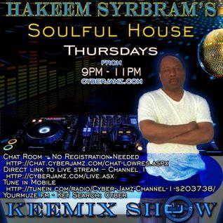 Hakeem Syrbram's Soulful House Keemix Show - 09-22-2016