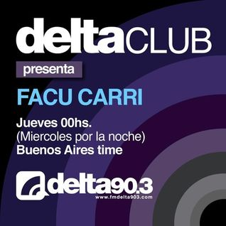 Facu Carri - Delta Club on Delta 90.3 FM - 16-Dec-2015