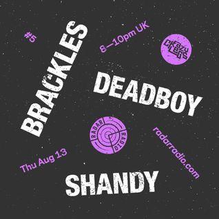 Crazylegs On Radar #5 - Deadboy, Brackles, Shandy & MC Kie