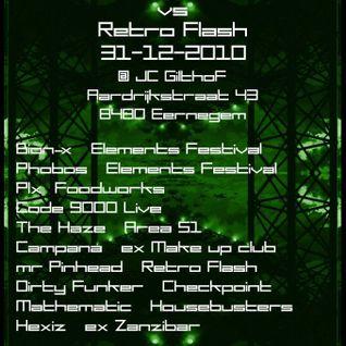 Code 9000 Live @ Plastic 4 NYE 31-12-2010