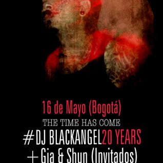 DJ BLACKANGEL20YEARS Bogota 16.05.15 (live set)