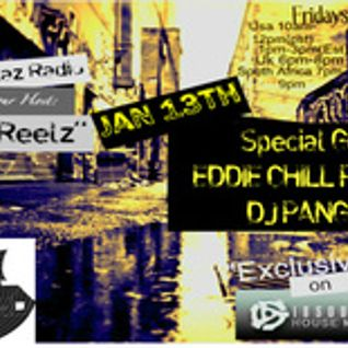 HouseWreckaz Radio Presentz Eddie Posadas & DJ Pangean 01 13 12