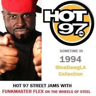 Funkmaster Flex Hot 97 Street Jams - Sometime in 1994 WQHT NYC