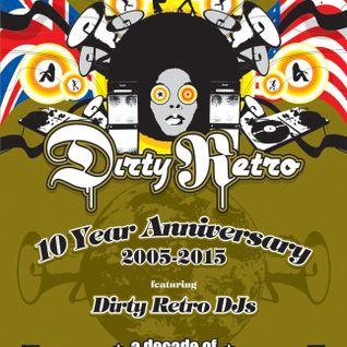 Dirty Retro Decade of House and Disco Mix