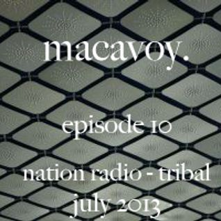 macavoy episode 10 - tribal techno